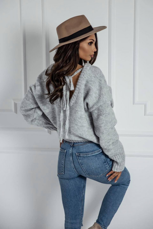 Szary sweter Lesca 1