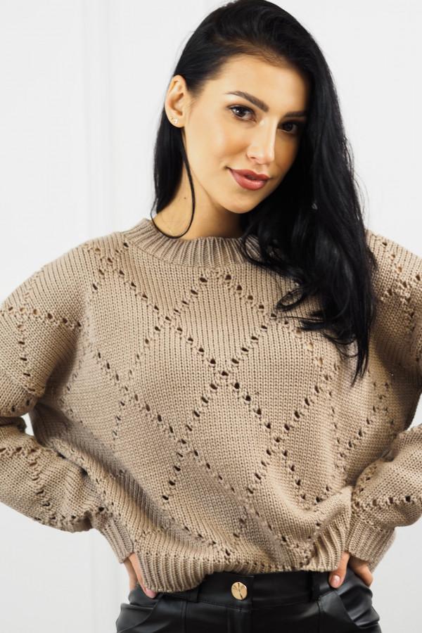 Sweter mocca Ivona