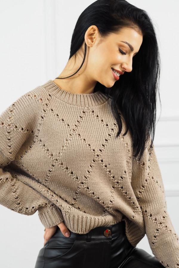 Sweter mocca Ivona 1