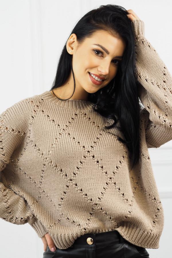 Sweter mocca Ivona 3
