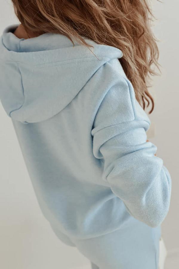 Niebieski komplet dresowy Irene 4