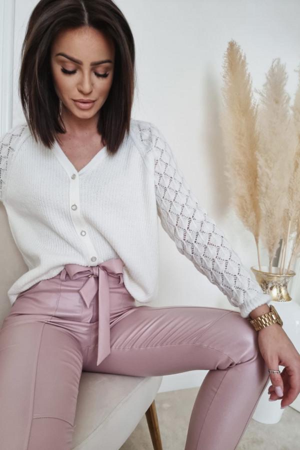 Biały sweter Marta
