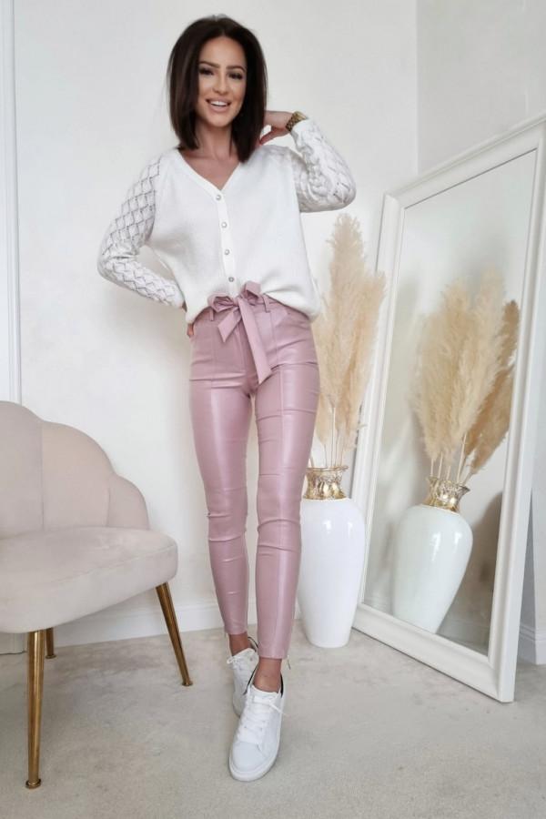 Biały sweter Marta 2