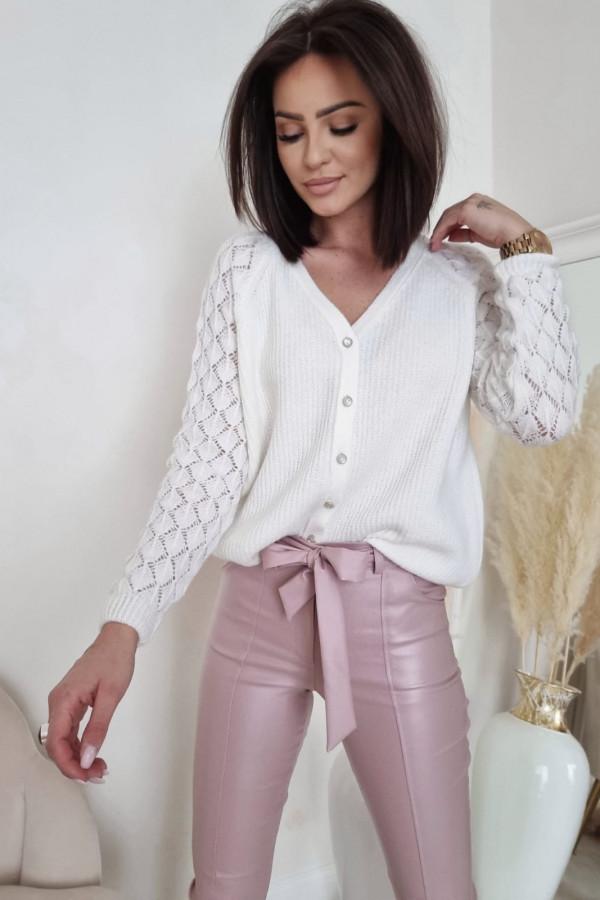 Biały sweter Marta 3