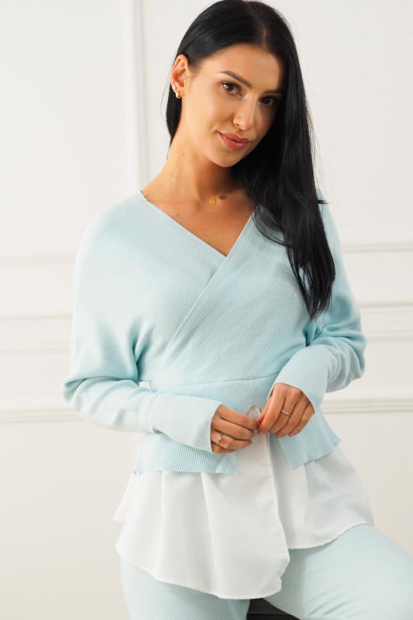 Komplet niebieski z koszulą Dorotea 1