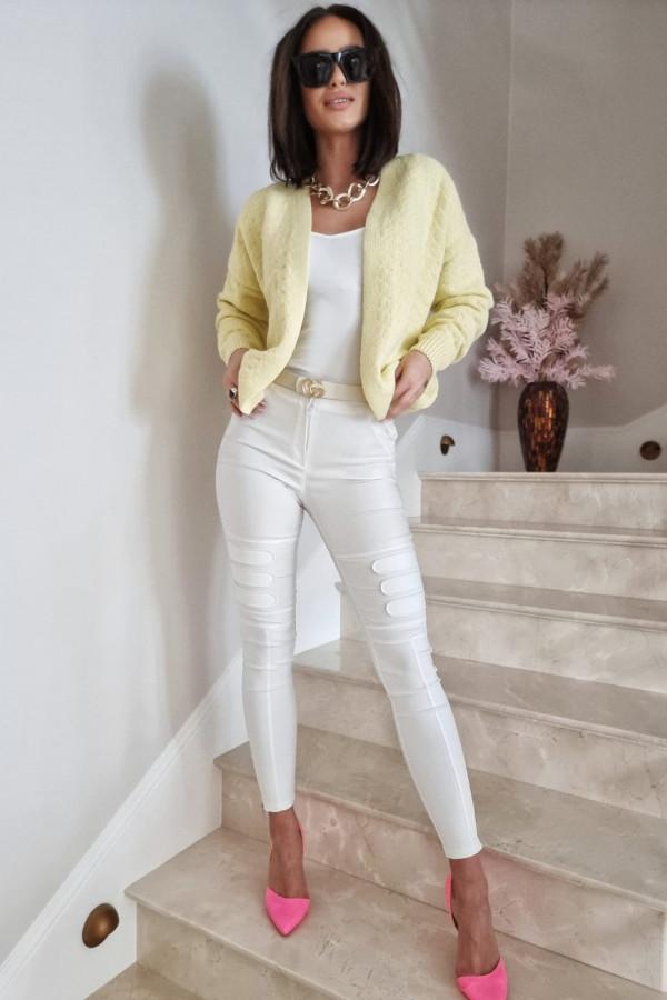 Żółty sweter Gianna