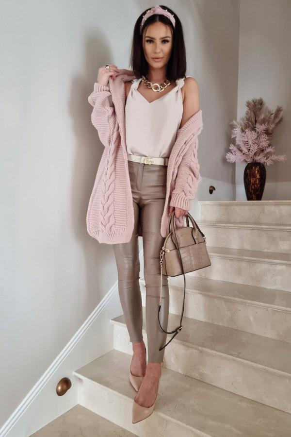 Różowy kardigan Stefania