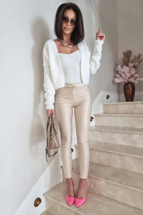 Biały sweter Gianna