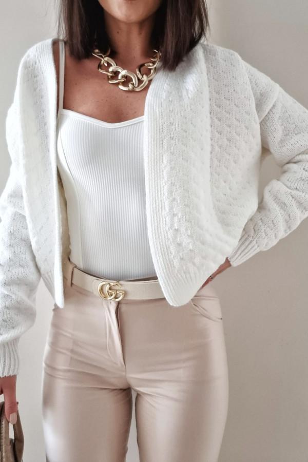 Biały sweter Gianna 1