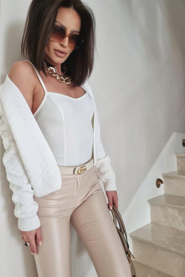 Biały sweter Gianna 4