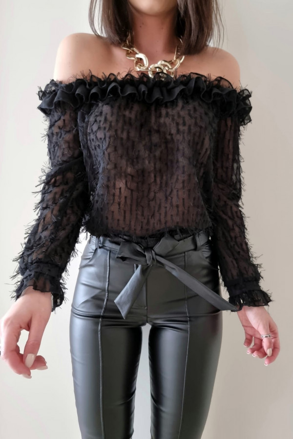 Czarna bluzka Felicia 2