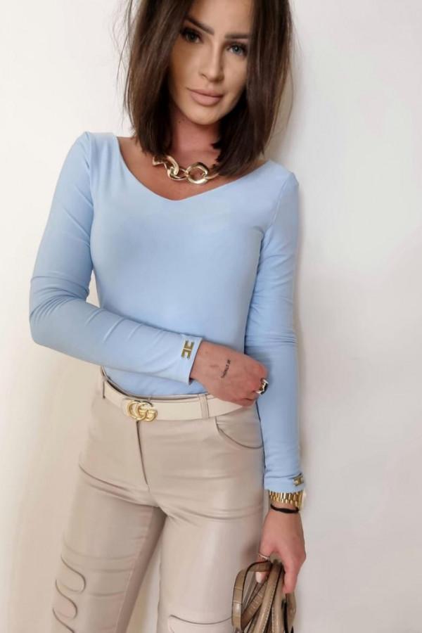 Niebieska bluzka Marta 1