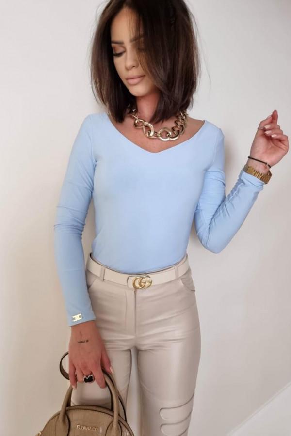Niebieska bluzka Marta 2