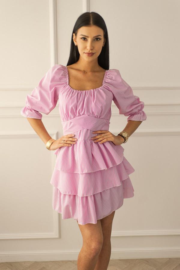 Sukienka różowa Claret
