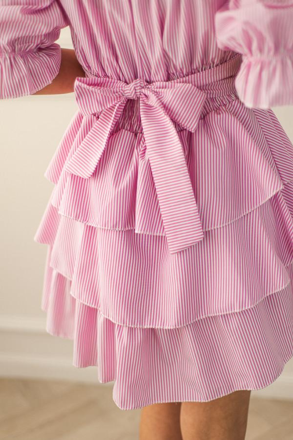 Sukienka różowa Claret 2