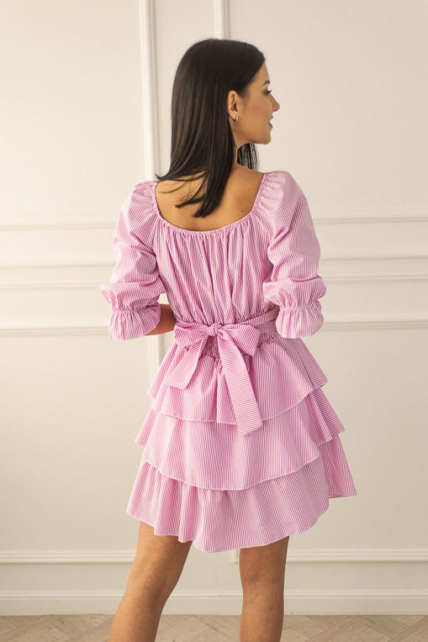 Sukienka różowa Claret 3