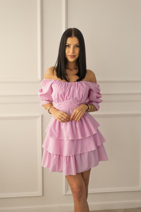 Sukienka różowa Claret 4
