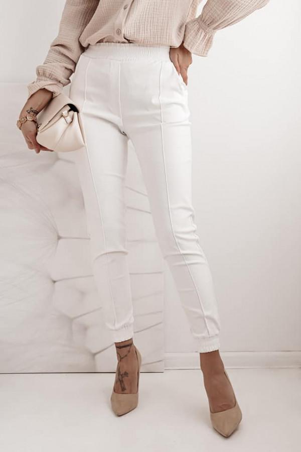 Spodnie białe Cora 1