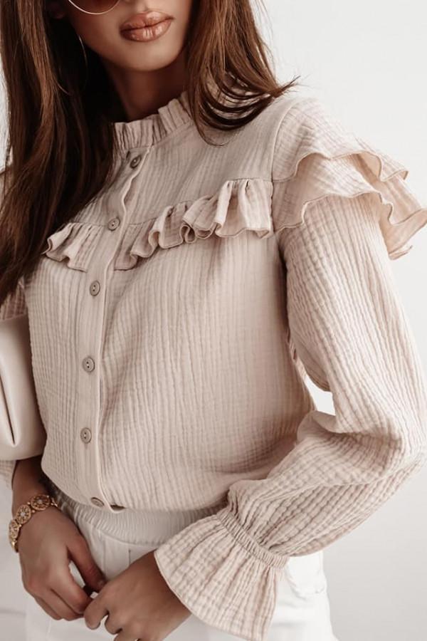 Bluzka beżowa Sarah
