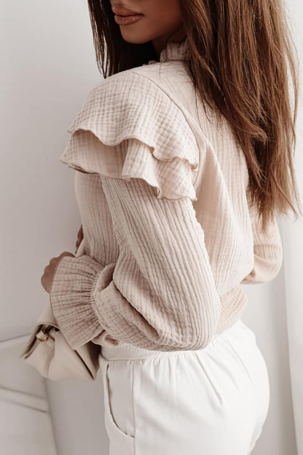 Bluzka beżowa Sarah 2