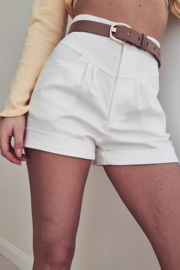 Spodenki krótkie białe Xana