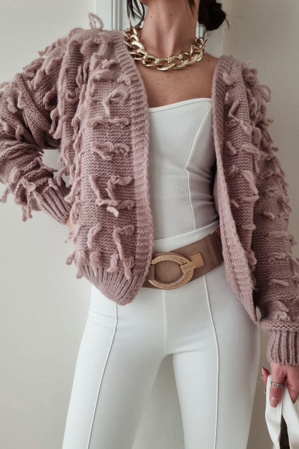 Sweterek brązowy Adrie
