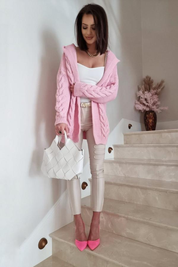 Kardigan różowy Alida