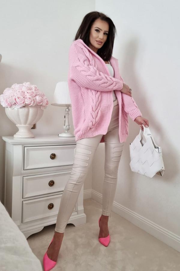 Kardigan różowy Alida 4