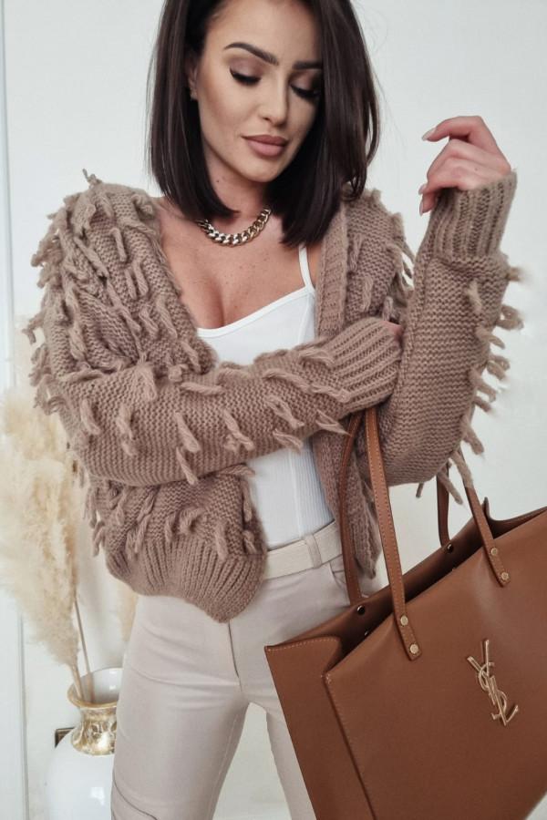 Sweterek brązowy Adrie 6