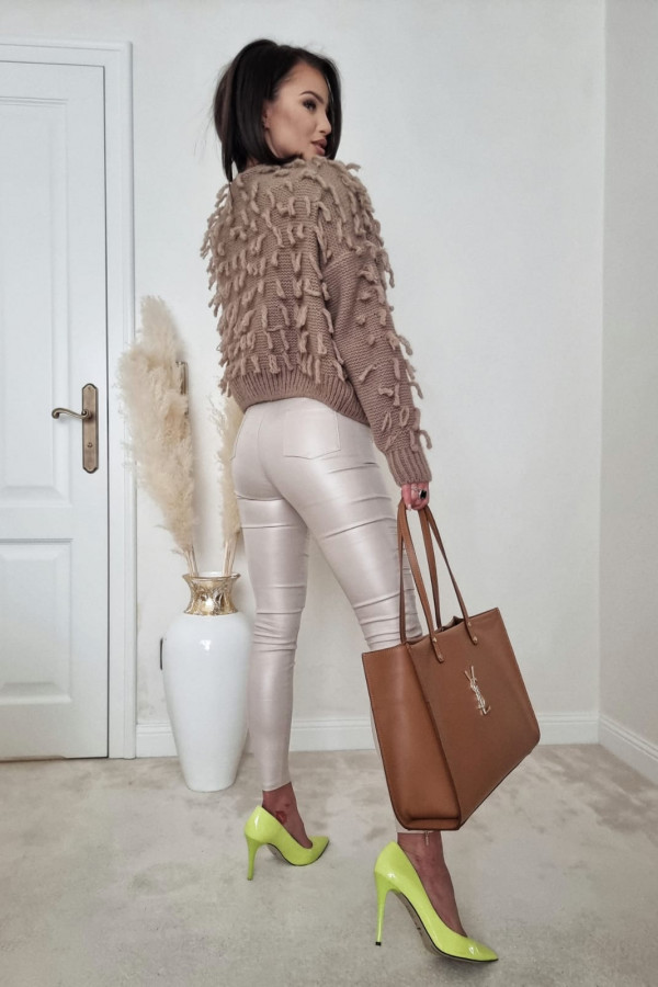 Sweterek brązowy Adrie 7