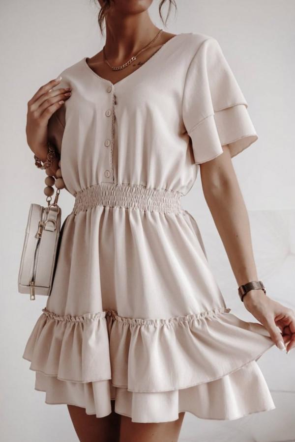 Sukienka Victoria beżowa