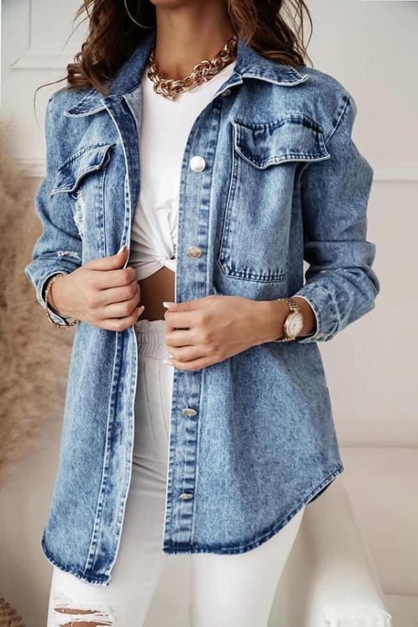 Kurtka jeansowa Cornelia