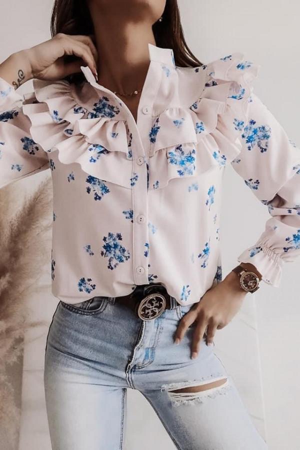 Koszula w kwiaty Silvia III