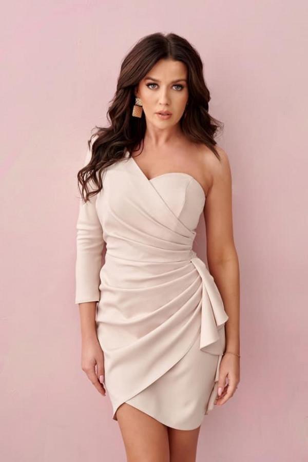 Sukienka Octavia beżowa