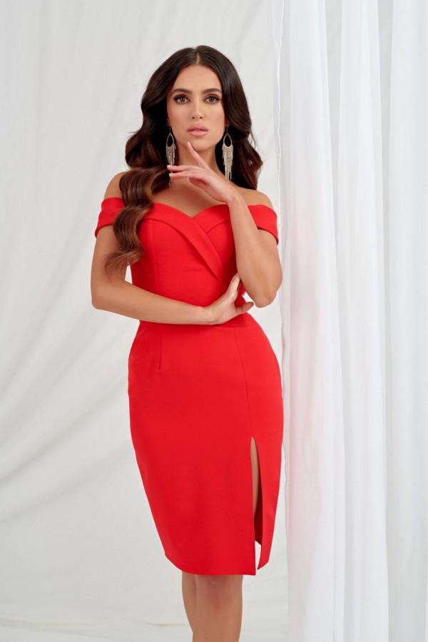 Sukienka Aurora czerwona