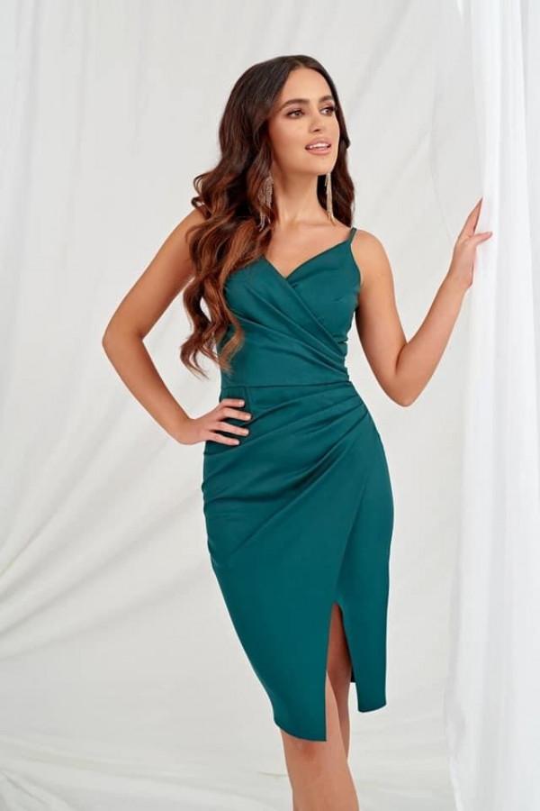 Sukienka Agata zielona