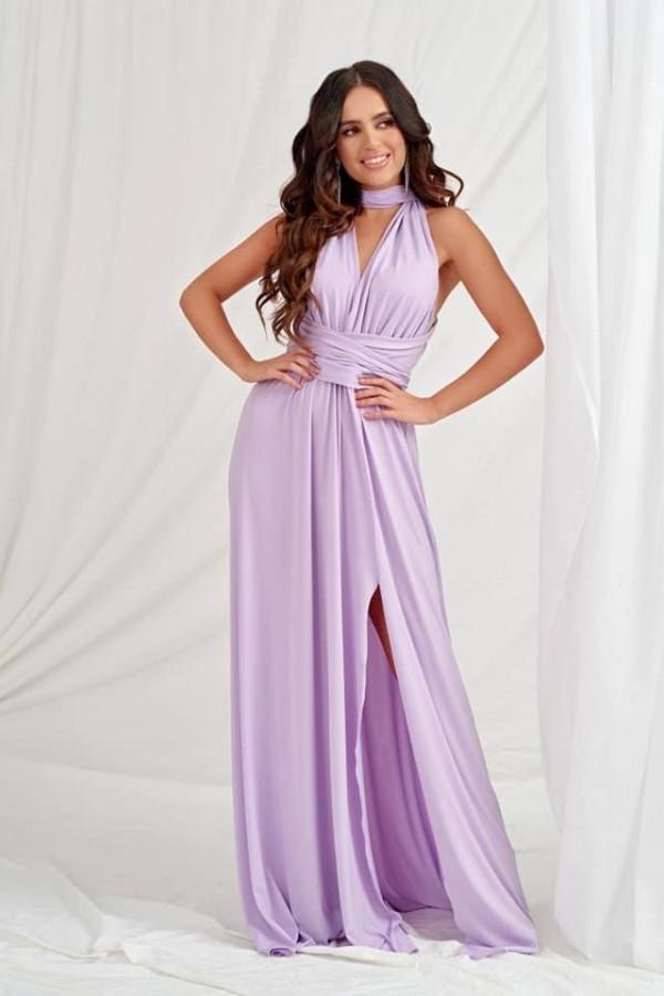 Sukienka Marina liliowa