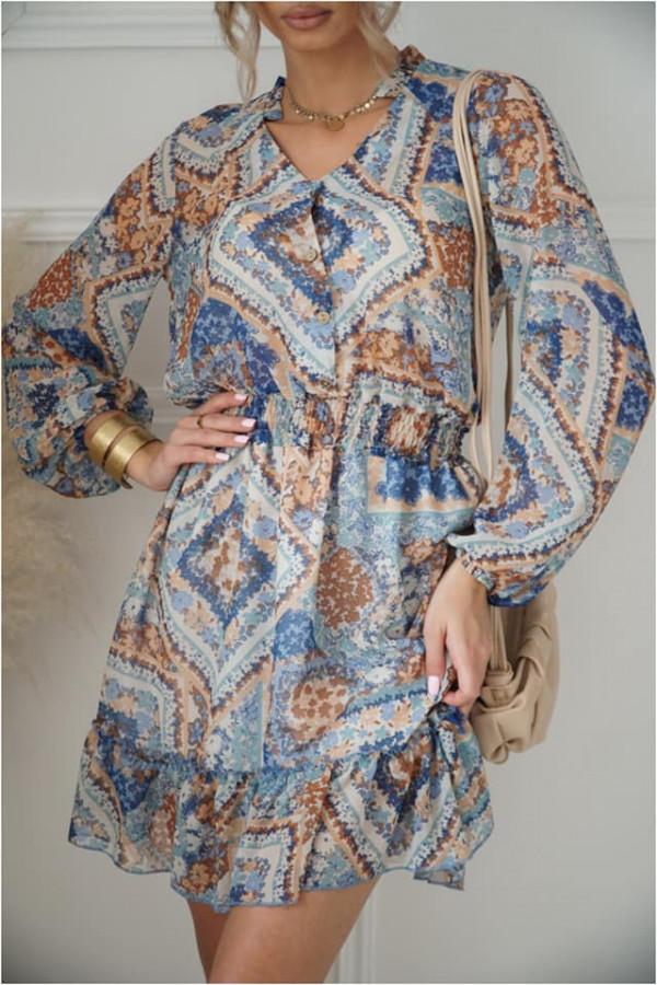 Sukienka szyfonowa 1