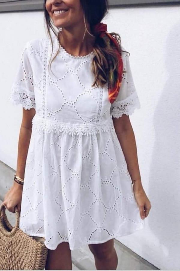 ażurowa sukienka Kerby DX8093-4