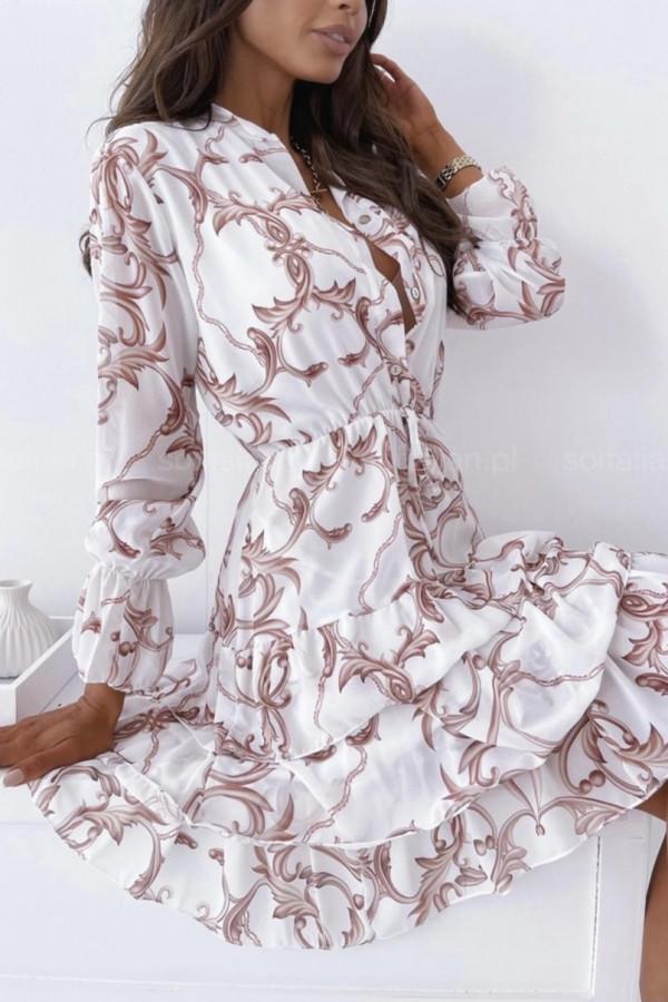 Sukienka WERLA WHITE