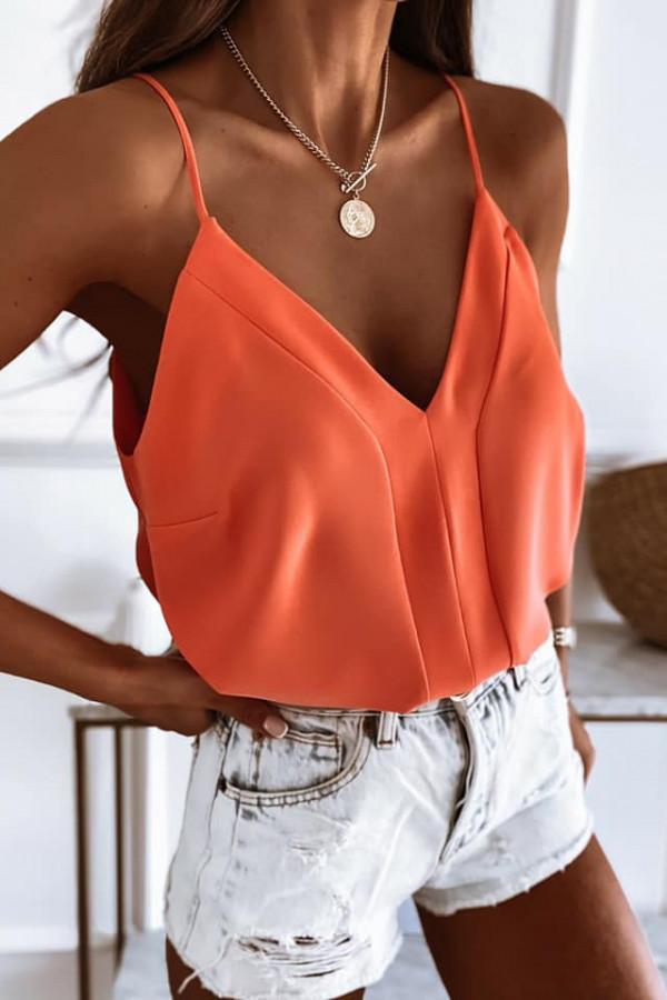 top Adeline orange