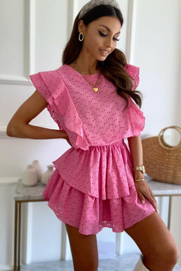Ażurowa sukienka Nadia