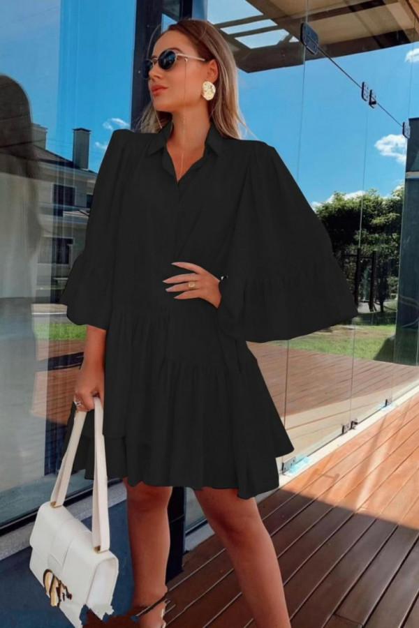 Sukienka czarna KEYBRA 1
