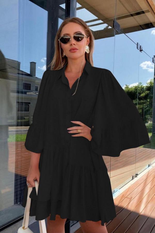 Sukienka czarna KEYBRA 2