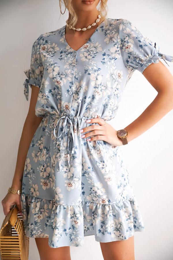 Sukienka w kwiatki Maja