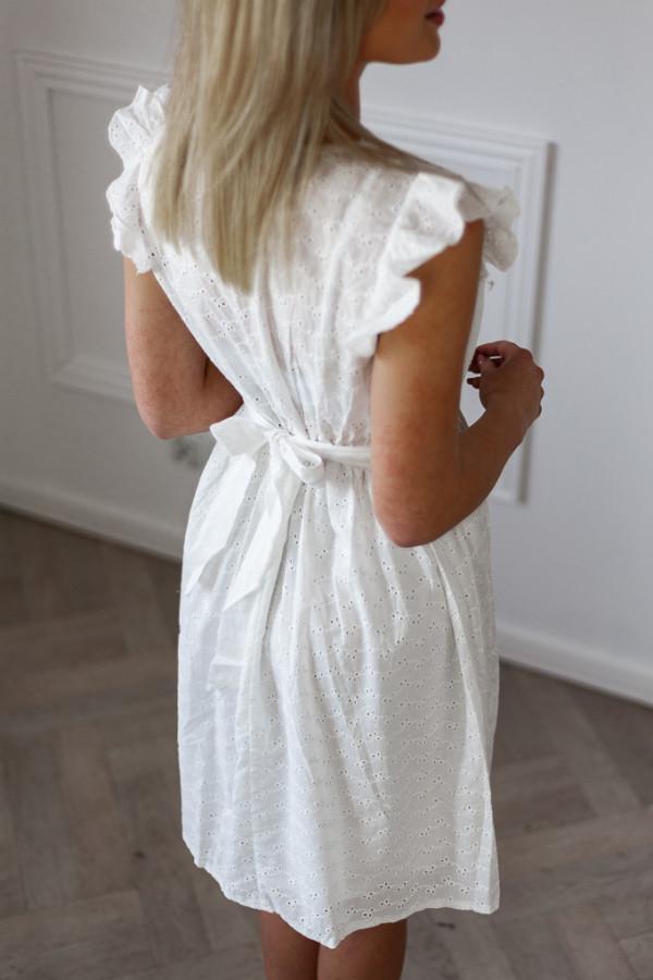 Sukienka ażurowa Diana biała 1