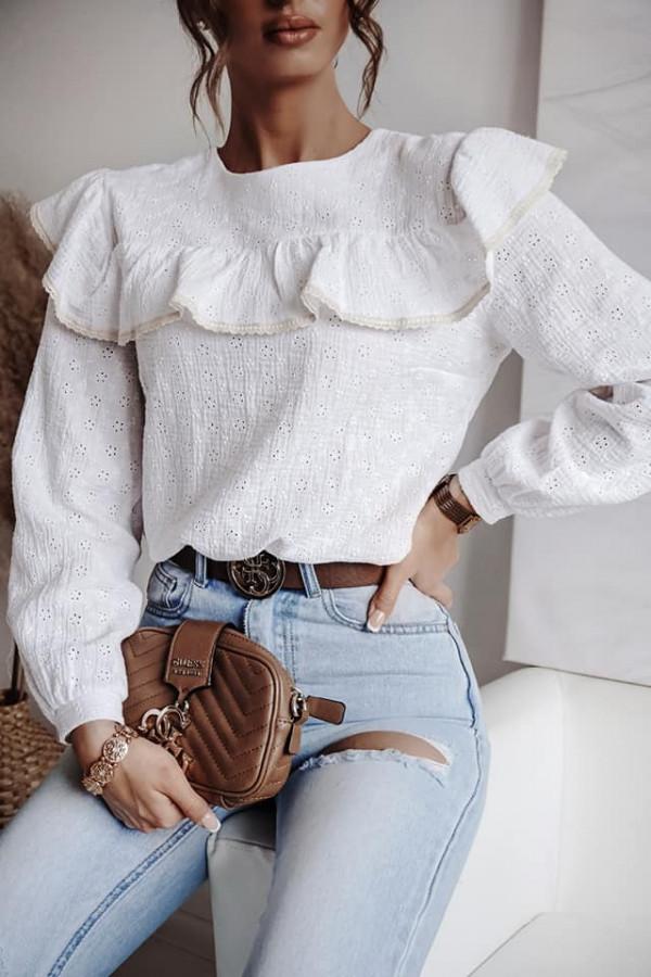bluzka ażurowa uno 1
