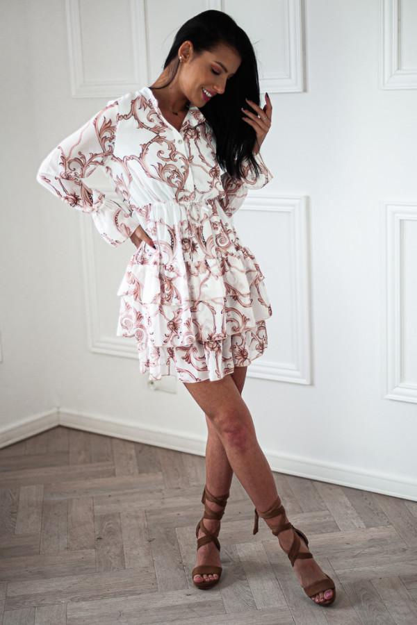 Sukienka WERLA WHITE 1