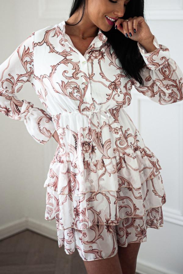 Sukienka WERLA WHITE 2