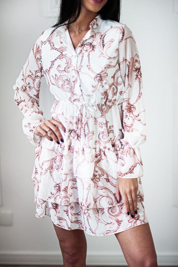 Sukienka WERLA WHITE 3